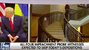 News video: White House witnesses defy impeachment deposition subpoenas