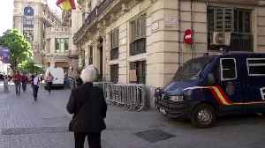 Barcelona ramps up security ahead of royal family's visit [Video]