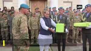 News video: Rajnath Singh attends first Indo Uzbek Joint Exercise in Tashkent