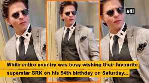 Salman Khan's birthday wishes for 'King Khan' is just adorable [Video]