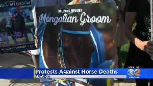 Mongolian Groom's Death Inspires Vigil, New Calls For Santa Anita Park To Close [Video]