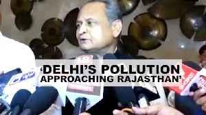 'Delhi's pollution now approaching Jaipur': Rajasthan CM Ashok Gehlot [Video]