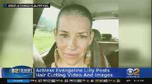 News video: Evangeline Lilly Shaves Head