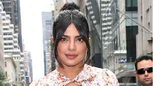 Priyanka Chopra Wears Face Mask On Set In Delhi [Video]