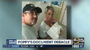 Mesa family wins fight for daughter's birth certificate [Video]