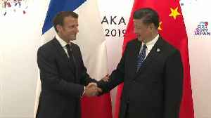 Macron in China: French president to discuss trade, climate with Xi Jinping [Video]