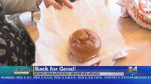 Trending: Popeye's Chicken Sandwich [Video]