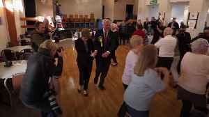 Nicola Sturgeon dances on campaign trail [Video]