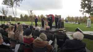 Fields of Remembrance opened at National Memorial Arboretum [Video]