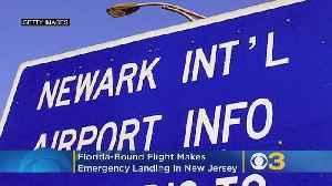 Florida-Bound Flight Makes Emergency Landing In New Jersey [Video]
