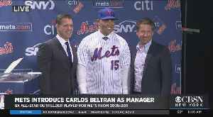Carlos Beltran Introduced As The 22nd New York Mets Manager [Video]