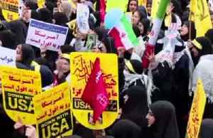 Iranians celebrate U.S. embassy seizure anniversary [Video]