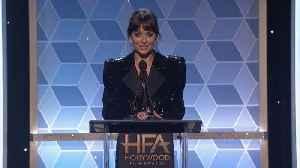 Dakota Johnson Honours Stepdad Antonio Banderas [Video]