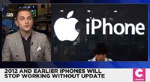 iPhones and iPads From 2012 or Earlier Will Shut Down Without Update [Video]