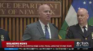 News video: James O'Neill Out, Dermot Shea In As Next NYPD Commission