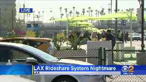 News video: Passengers Angry Over Pickup Problems At LAX