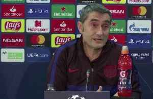 Valverde hopeful Barcelona get back to winning ways against tough Slavia [Video]