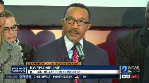 Kweisi Mfume, the man Cummings replaced in the 7th District, announces official run [Video]