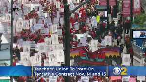 Teachers' Union To Vote On Tentative Contract With Chicago Public Schools [Video]