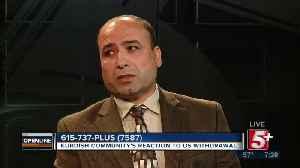 Kurdish Community Reaction to US Troop Withdrawal p2 [Video]
