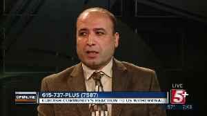 Kurdish Community Reaction to US Troop Withdrawal p3 [Video]