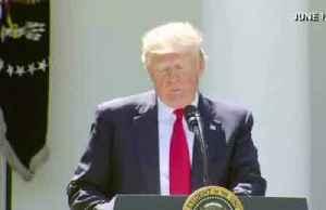 News video: Trump tells U.N. U.S. leaving Paris climate accord