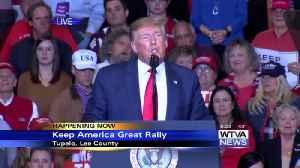 Full Speech - President Trump holds rally in Tupelo [Video]