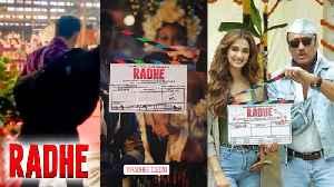 Salman Khan RADHE MOVIE FIRST Day Shoot On Location With Disha Patani [Video]