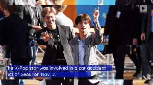 BTS' Jungkook Owns up to Causing Car Crash [Video]