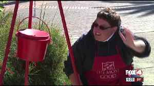 Salvation Army adds QR codes to red kettle [Video]