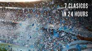 The Ultimate Derby Day | 7 Clásicos in 24 hours [Video]