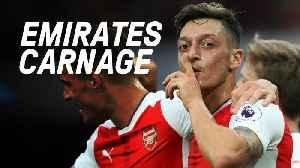 Emirates Carnage As Arsenal Smash Chelsea [Video]