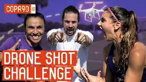 Drone Shot Challenge: Alex Morgan vs. Marta - Ep. 2 [Video]