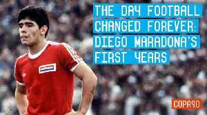 The Day Football Changed Forever   Diego Maradona's first years [Video]
