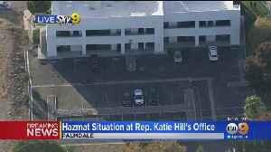 'Suspicious Envelope' Addressed To Katie Hill Prompts Hazmat Situation [Video]