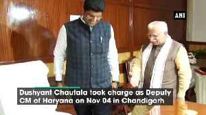 Dushyant Chautala takes charge as Haryana Deputy CM [Video]