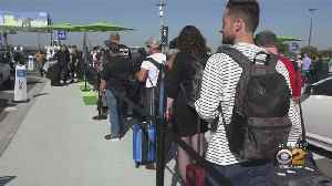LAX To Increase Size Of Uber, Lyft, Taxi Pickup Lot Amid Long Wait Times And Angry Passengers [Video]