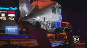 Small Plane Finally Hauled Away After Crash Landing In Doral [Video]