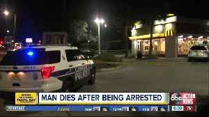 Man becomes unresponsive, dies after acting erratic at Clearwater McDonald's, police say [Video]