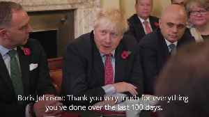 Boris Johnson rallies Cabinet Ministers ahead of UK general election [Video]
