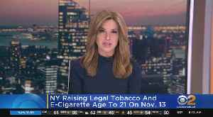 NYS Raising Tobacco Age To 21 [Video]