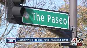 News video: Kansas City voters to decide fate of Paseo name change