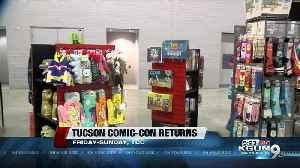 Tucson Comic-Con to draw crowds for pop culture bonanza [Video]