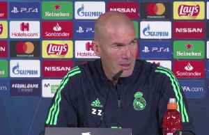 Zidane confirms Bale won't feature against Galatasaray despite Wales call up [Video]
