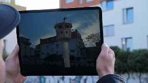 News video: Watch: Augmented reality keeps Berlin Wall memories alive