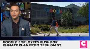 Google Employees Demand a Climate Plan From the Company [Video]