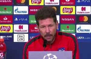 Atletico Madrid expect a tough battle against 'high level' Leverkusen [Video]