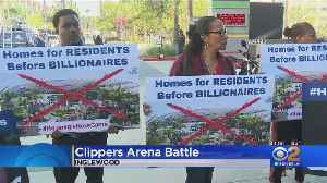 Neighbors Say They're Being Squeezed Out By New Clippers Arena [Video]