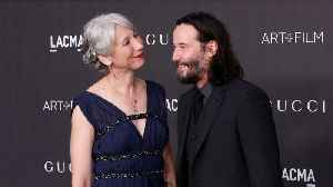 News video: Are Keanu Reeves And Alexandra Grant Dating?