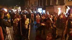 Town of Lewes celebrate Bonfire Night in traditional style [Video]